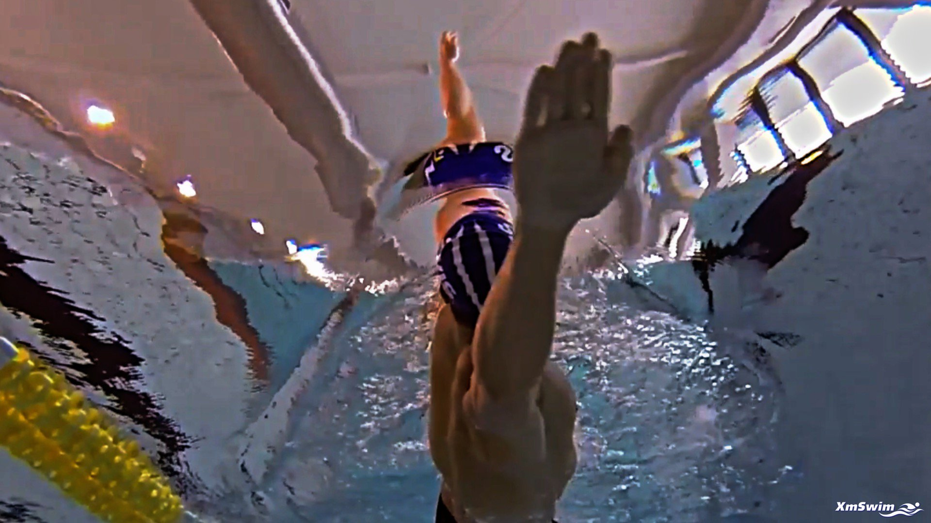 BACKSTROKE SCULL WITH TOUCH-AND-GO ARMS