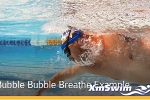 自由泳呼吸重要技巧 Bubble Bubble Breathe Example